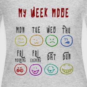 Week Mode - Women's Long Sleeve Jersey T-Shirt