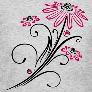 Beautiful and filigree flowers, summer time. - Women's Long Sleeve Jersey T-Shirt