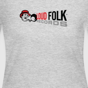 Loud Folk Records Logo - Women's Long Sleeve Jersey T-Shirt