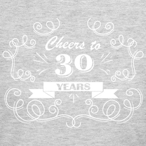 Cheers to 30 years - Women's Long Sleeve Jersey T-Shirt