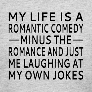 My Life Is A Romantic Comedy - Women's Long Sleeve Jersey T-Shirt