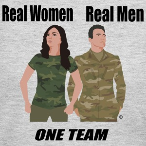 One Team: Army - Women's Long Sleeve Jersey T-Shirt