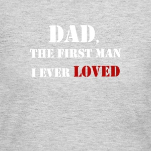 DAD - Father's Day Graphic T-shirt and Collections - Women's Long Sleeve Jersey T-Shirt