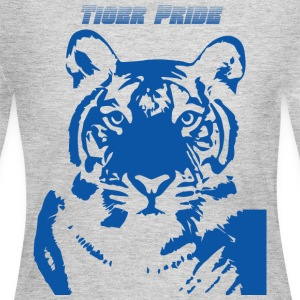 Blue Tiger - Women's Long Sleeve Jersey T-Shirt