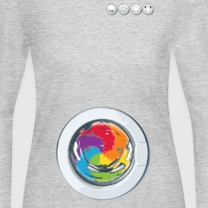 Rainbow Laundry - Women's Long Sleeve Jersey T-Shirt