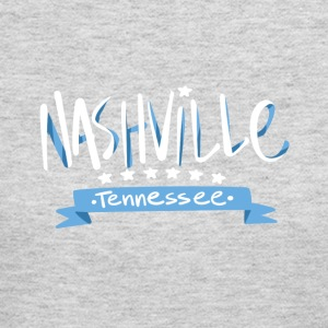 Tennessee Nashville, The Place To Be U.S T-Shirt - Women's Long Sleeve Jersey T-Shirt