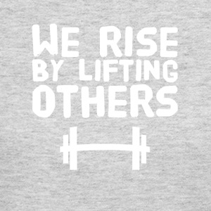 We rise by lifting others - Women's Long Sleeve Jersey T-Shirt