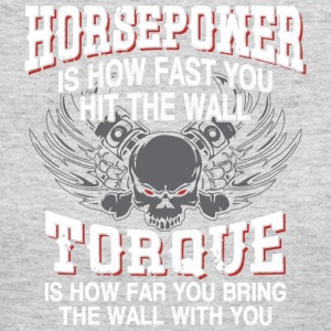 Horpower Vs. Torque Definition - Women's Long Sleeve Jersey T-Shirt