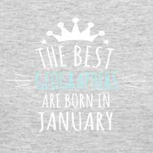 Best GEOGRAPHERS are born in january - Women's Long Sleeve Jersey T-Shirt