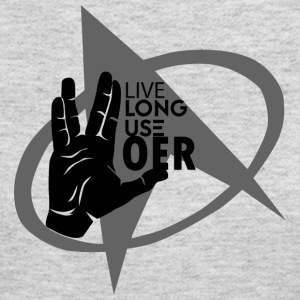 Live Long Use OER - Women's Long Sleeve Jersey T-Shirt