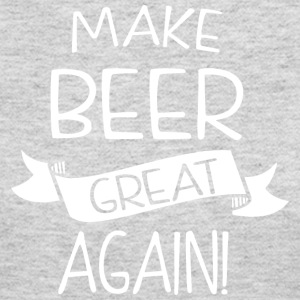 Make beer great again! - Women's Long Sleeve Jersey T-Shirt