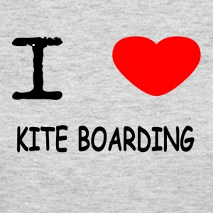 I LOVE KITE BOARDING - Women's Long Sleeve Jersey T-Shirt