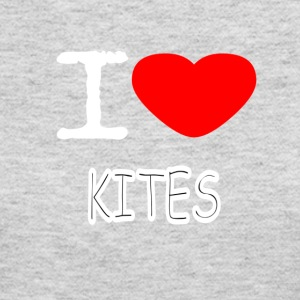 I LOVE KITES - Women's Long Sleeve Jersey T-Shirt