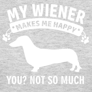 wiener dog design - Women's Long Sleeve Jersey T-Shirt