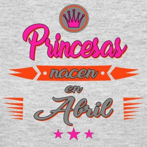Princesas nacen en Abril - Women's Long Sleeve Jersey T-Shirt