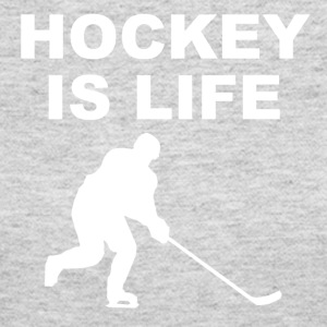 Hockey Is Life - Women's Long Sleeve Jersey T-Shirt