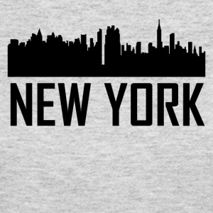New York City Skyline - Women's Long Sleeve Jersey T-Shirt