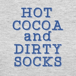 Hot cocoa and dirty socks - Women's Long Sleeve Jersey T-Shirt