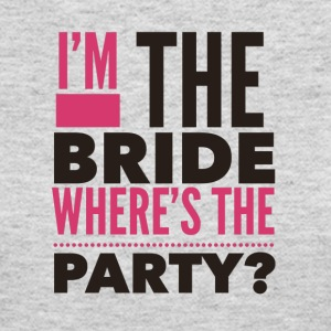 Im the bride where's the Party - Women's Long Sleeve Jersey T-Shirt