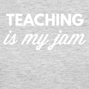 Teaching is my jam - Women's Long Sleeve Jersey T-Shirt