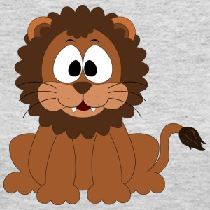 Lion Comic Style - Women's Long Sleeve Jersey T-Shirt