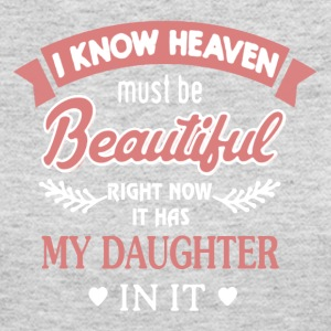 My Daughter Is In Heaven Shirts - Women's Long Sleeve Jersey T-Shirt