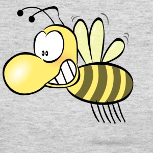 Funny Bee Smiling - Women's Long Sleeve Jersey T-Shirt