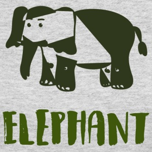 Elephant Green - Women's Long Sleeve Jersey T-Shirt