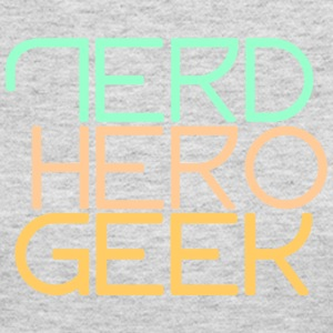 Nerd hero geek pastel - Women's Long Sleeve Jersey T-Shirt