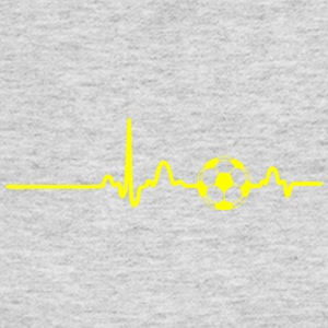 EKG HEARTBEAT BALL yellow - Women's Long Sleeve Jersey T-Shirt