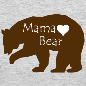 Mama Bear - Women's Long Sleeve Jersey T-Shirt