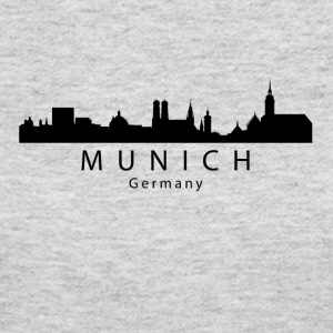 Munich Germany Skyline - Women's Long Sleeve Jersey T-Shirt