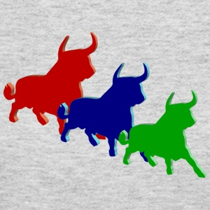 three bulls - Women's Long Sleeve Jersey T-Shirt