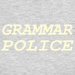 Grammer Police - Women's Long Sleeve Jersey T-Shirt