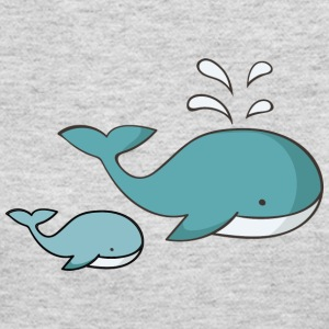 Whale - Women's Long Sleeve Jersey T-Shirt