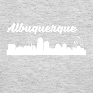 Albuquerque NM Skyline - Women's Long Sleeve Jersey T-Shirt