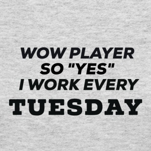 WOW Players work on Tuesday - Women's Long Sleeve Jersey T-Shirt