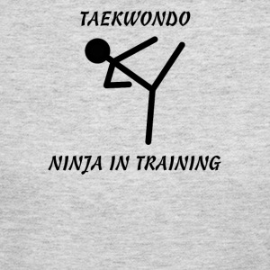 Taekwondo Ninja in Training - Women's Long Sleeve Jersey T-Shirt