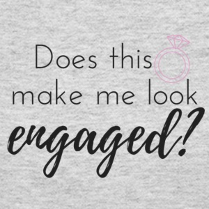 Does this ring make me look engaged? - Women's Long Sleeve Jersey T-Shirt