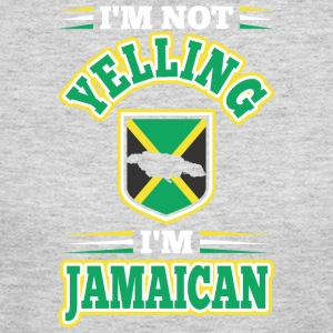 Im Not Yelling Im Jamaican - Women's Long Sleeve Jersey T-Shirt