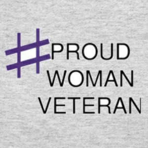 Proud Woman Vet - Women's Long Sleeve Jersey T-Shirt