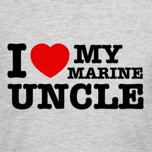 marine uncle design - Women's Long Sleeve Jersey T-Shirt