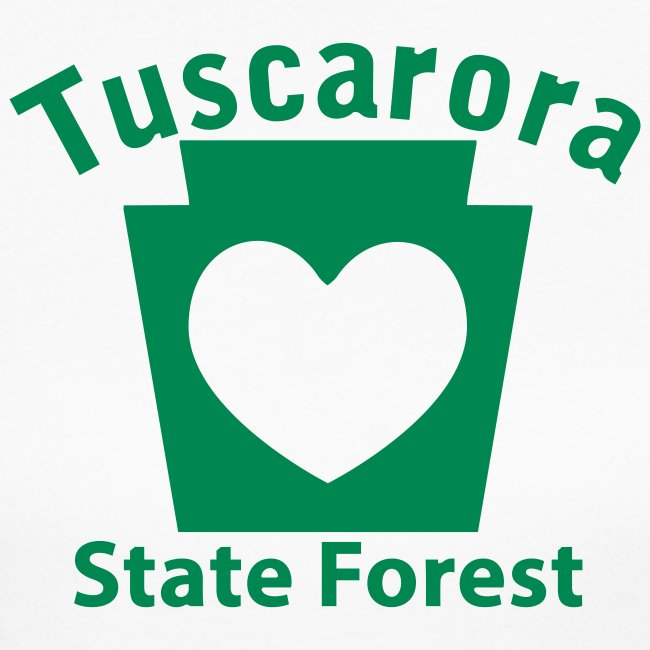 Tuscarora State Forest Keystone Heart