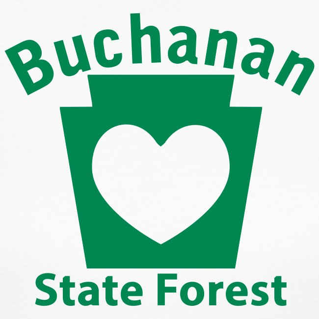 Buchanan State Forest Keystone Heart