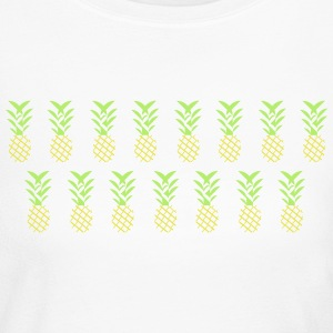Line pineapple - Women's Long Sleeve Jersey T-Shirt