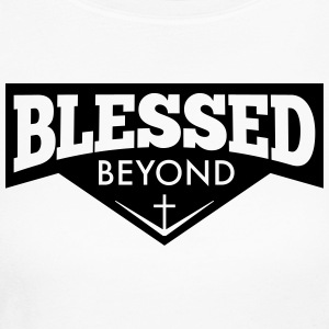 Blessed Beyond - Women's Long Sleeve Jersey T-Shirt