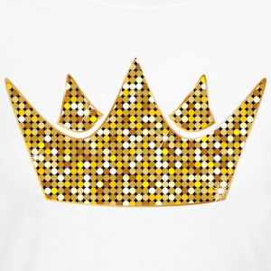 silver-gold-crovn-VIP-lable-crown-diamonds-princes - Women's Long Sleeve Jersey T-Shirt