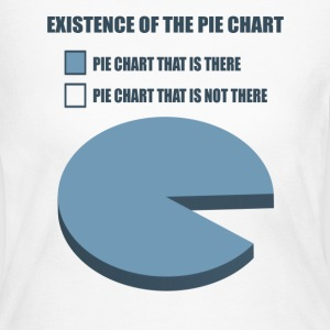 Existence of the Pie Chart - Women's Long Sleeve Jersey T-Shirt