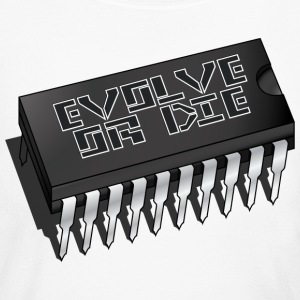 Evolve Or Die T Shirt - Women's Long Sleeve Jersey T-Shirt