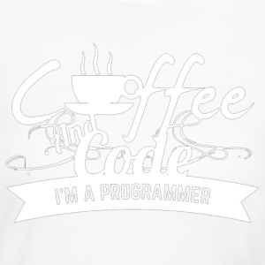 Coffee And Code T Shirt - Women's Long Sleeve Jersey T-Shirt
